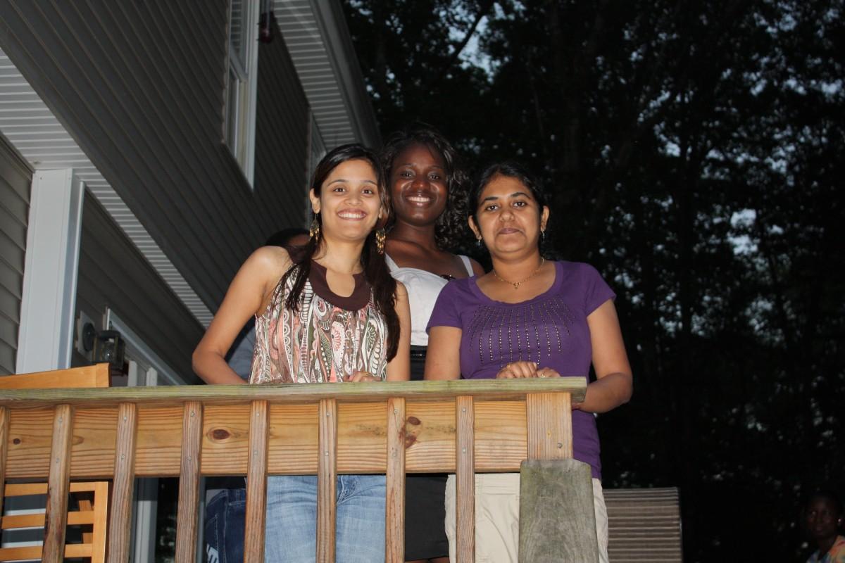 Sampada, Kaddy and Divya
